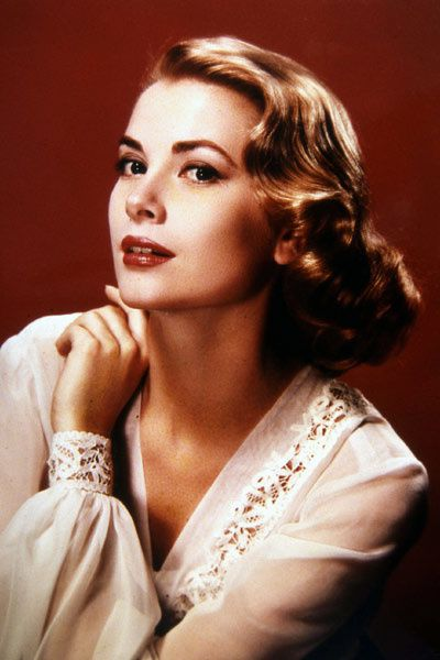 Portrait de Grace Kelly. Collection Christophe L.