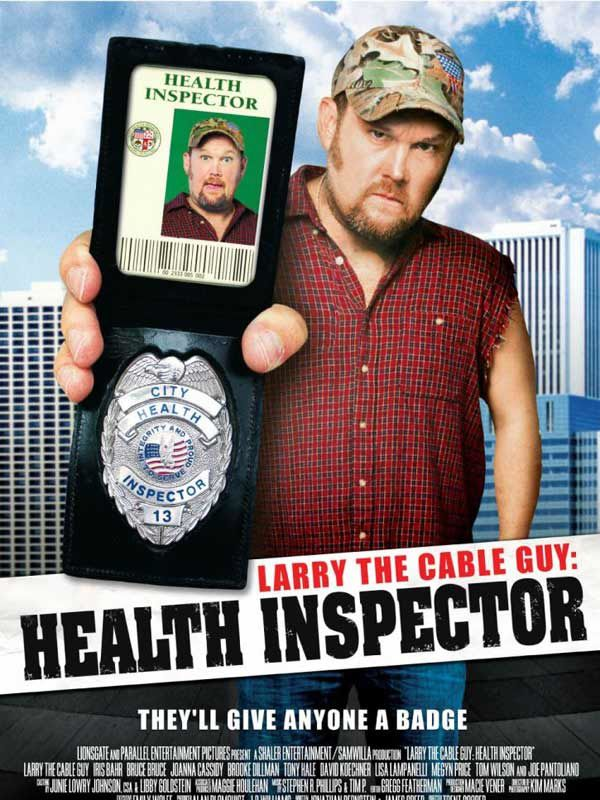 Larry the cable guy : health inspector - Affiche américaine