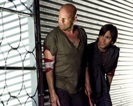 Die Hard 4 - retour en enfer - Bruce Willis et Justin Long