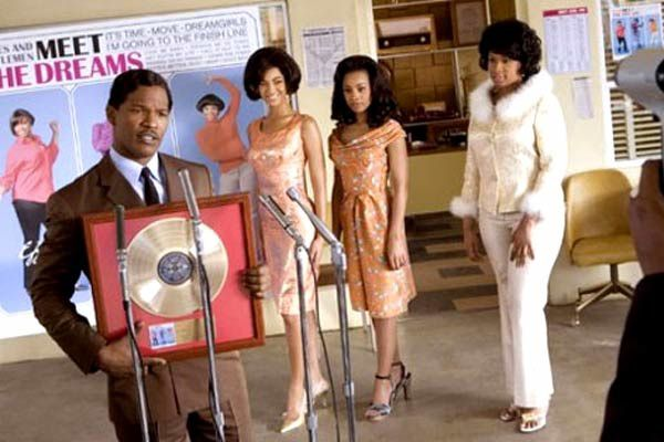 Jamie Foxx, Beyoncé Knowles, Anika Noni Rose et Jennifer Hudson. United International Pictures (UIP)