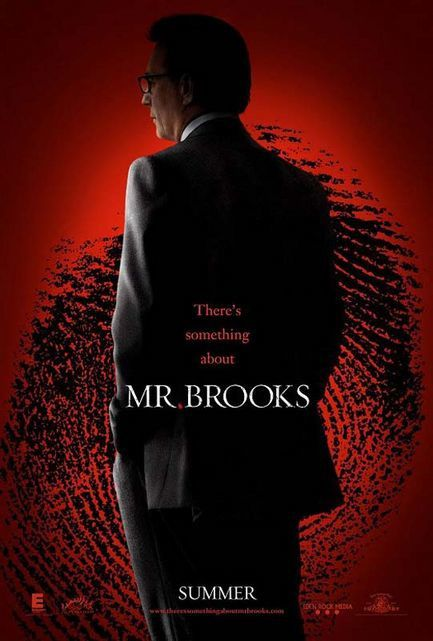 Mr. Brooks - Affiche teaser américaine