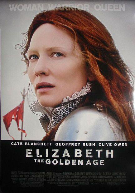 Elizabeth : l'âge d'or - Affiche américaine
