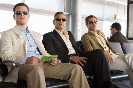 Ocean's 13 - Matt Damon, George Clooney et Brad Pitt