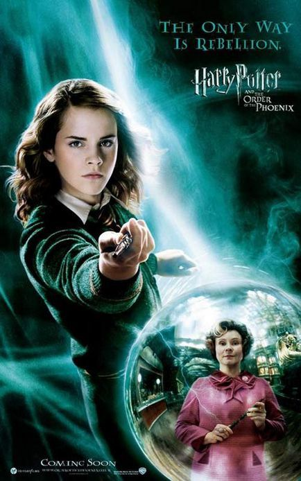 Affiche américaine - Harry Potter et l'Ordre du Phénix