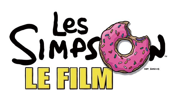 Les Simpson - le film - Logo officiel français