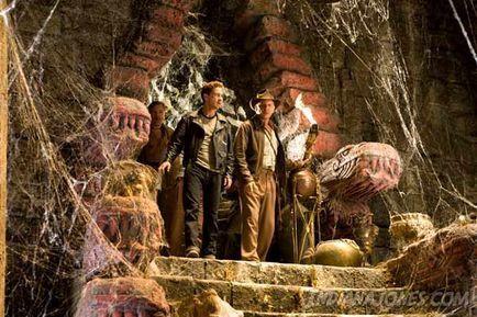 Indiana Jones et le Royaume du Crâne de Cristal - Shia LaBeouf et Harrison Ford