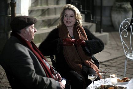 Un conte de Noël - Catherine Deneuve et Jean-Paul Roussillon