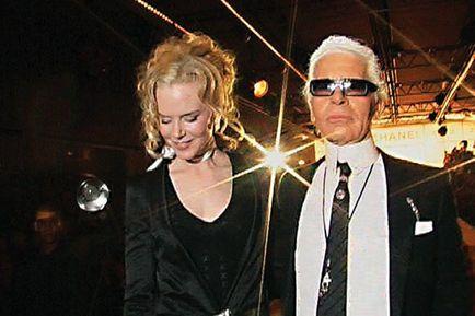 Lagerfeld Confidentiel - Nicole Kidman et Karl Lagerfeld