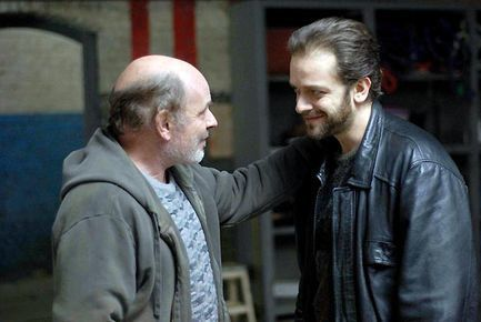 Les Yeux bandés - Jean-François Stévenin et Jonathan Zaccaï