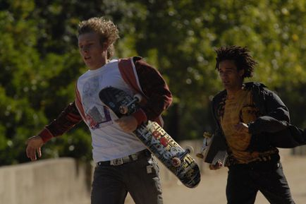 Skate or Die - Idriss Diop et Mickey Mahut