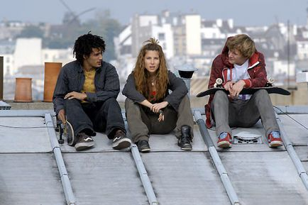 Skate or Die - Mickey Mahut, Elsa Pataky et Idriss Diop