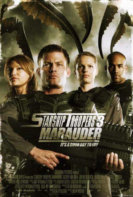 Starship Troopers 3: Marauder - Affiche américaine