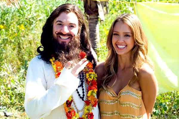 Mike Myers et Jessica Alba. Paramount Pictures France
