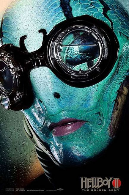 Hellboy 2 : The Golden Army - Affiche américaine