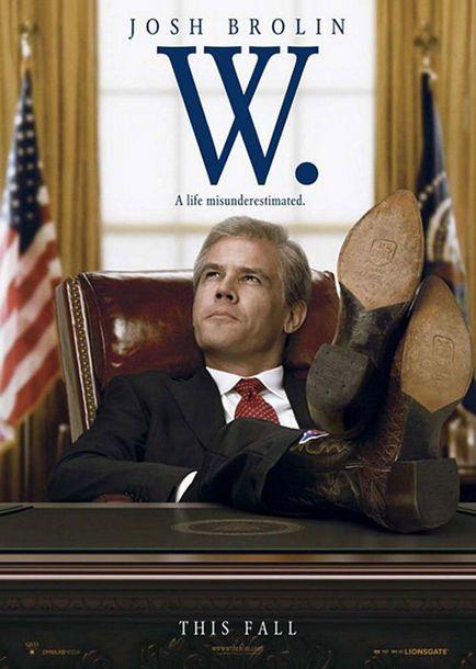 W. - L'improbable Président - Affiche américaine