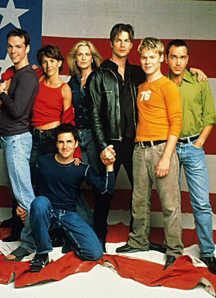 Queer as Folk - Hal Sparks, Peter Paige, Michelle Clunie, Thea Gill, Gale Harold, Randy Harrison & Scott Lowell