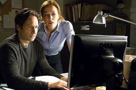 X Files - Regeneration - David Duchovny et Gillian Anderson