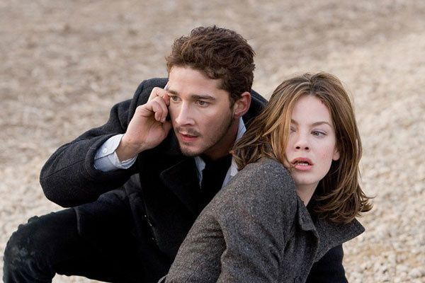 Shia LaBeouf et Michelle Monaghan. Paramount Pictures France