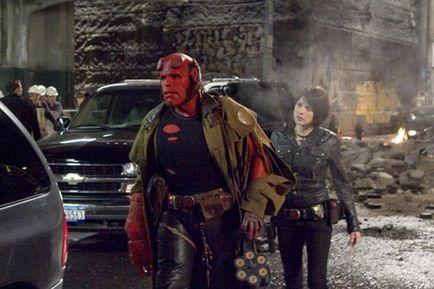 Hellboy 2 : The Golden Army - Ron Perlman et Selma Blair