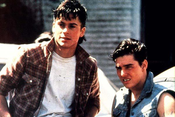Outsiders - Rob Lowe et Tom Cruise