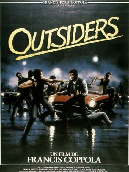 Francis Ford Coppola dans Outsiders (Affiche)