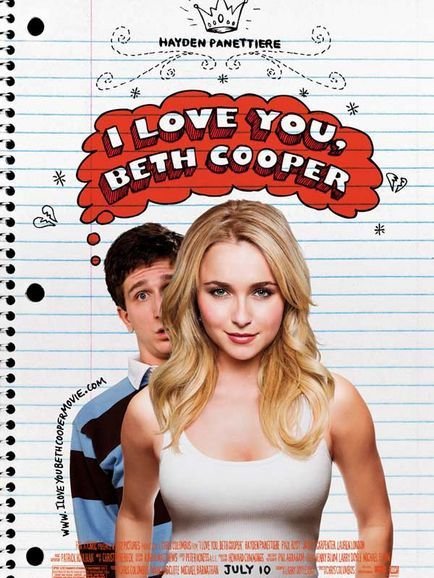 I Love You, Beth Cooper (Affiche (autres))