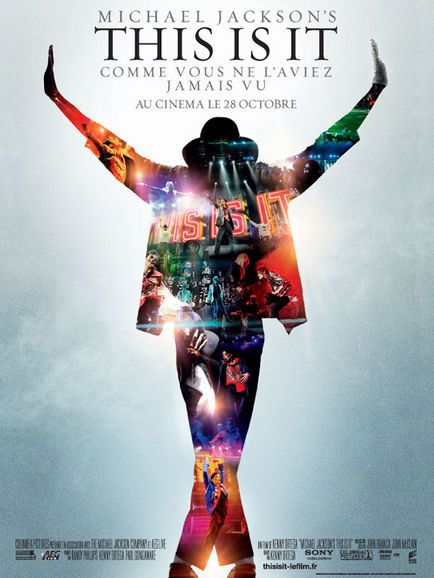 Michael Jackson, Kenny Ortega dans Michael Jackson's This Is It (Affiche)