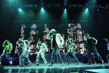 Michael Jackson, Kenny Ortega dans Michael Jackson's This Is It (Photo)