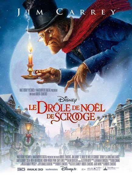 Robert Zemeckis dans Le Drôle de Noël de Scrooge (Affiche)