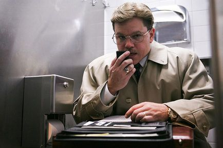 Matt Damon, Steven Soderbergh dans The Informant (Photo)
