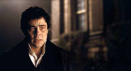 Benicio Del Toro, Joe Johnston dans Wolfman (Photo)