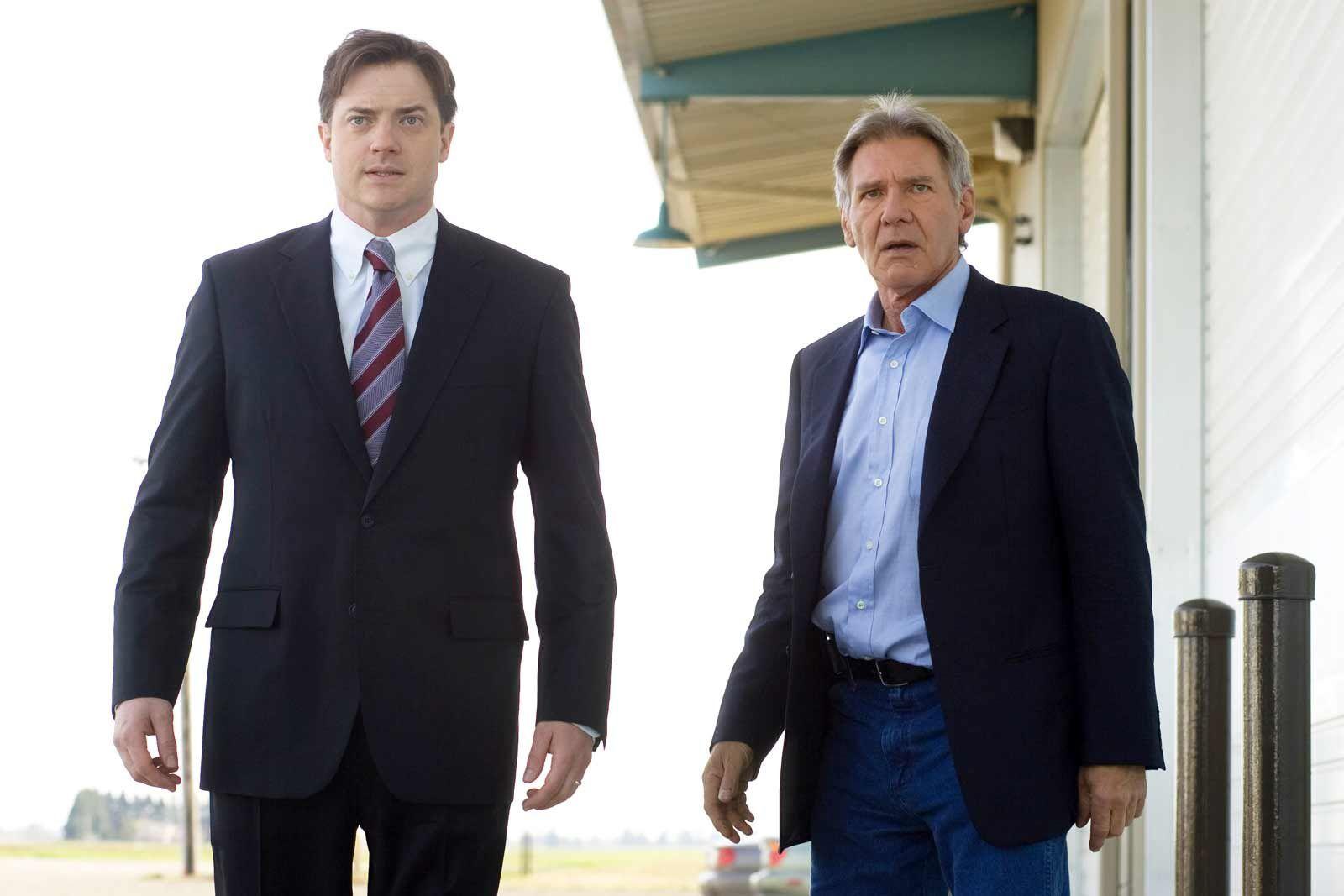 Brendan Fraser et Harrison Ford. CBS Films