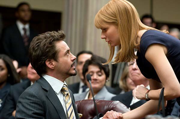 Robert Downey Jr. et Gwyneth Paltrow. Paramount Pictures France