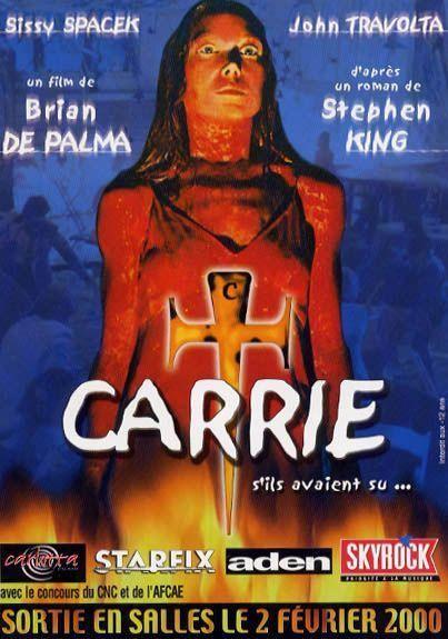Brian De Palma, Sissy Spacek dans Carrie au bal du diable (Affiche)