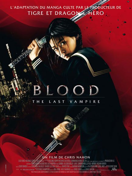 Ji-Huyn Jun, Chris Nahon dans Blood: The Last Vampire (Affiche)
