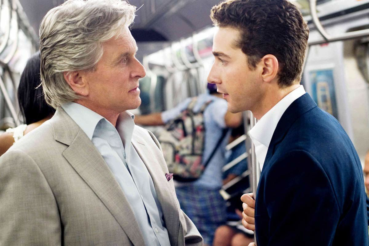 Michael Douglas et Shia LaBeouf. Twentieth Century Fox France