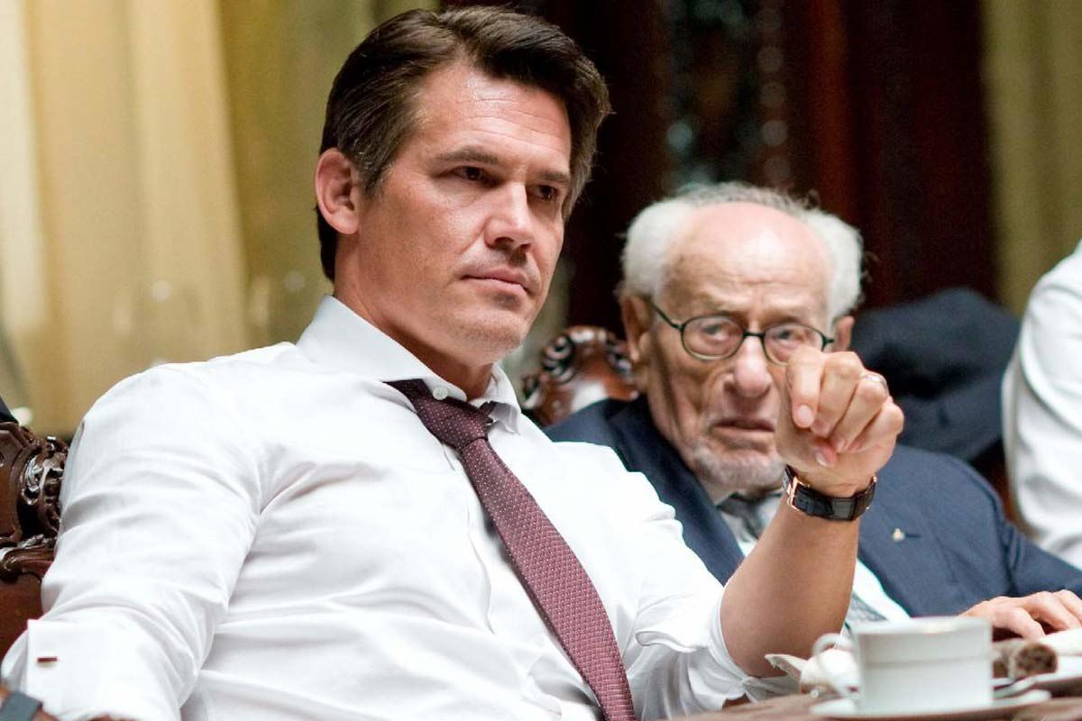 Josh Brolin et Eli Wallach. Twentieth Century Fox France