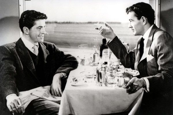 Farley Granger et Robert Walker. Ciné Classic