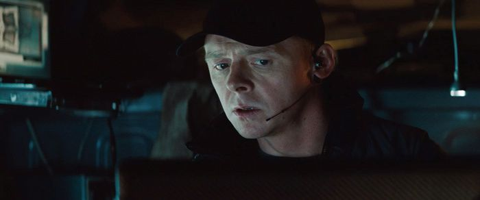 Simon Pegg. Paramount Pictures France