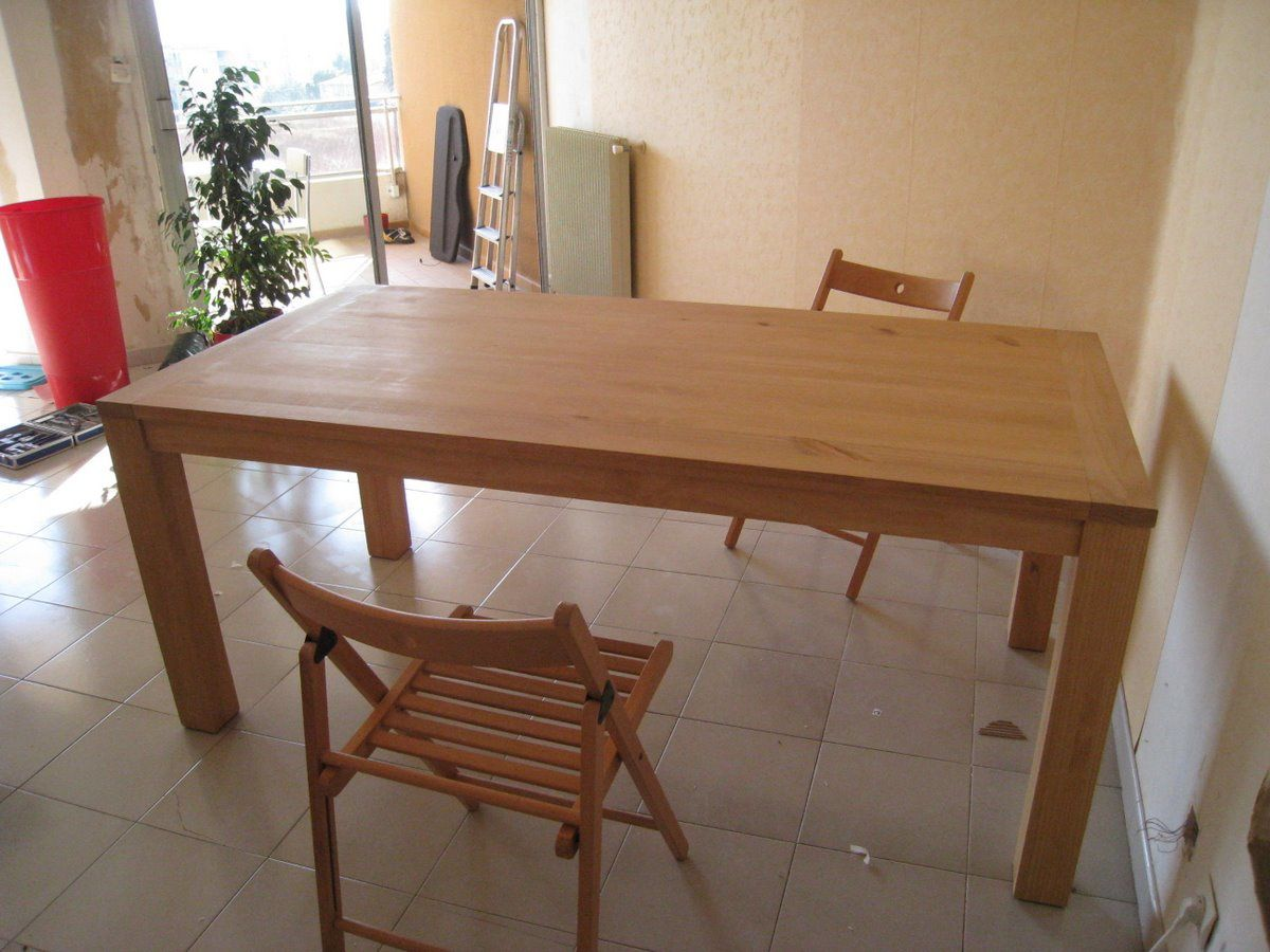 Table de cuisine conforama good ilot central cuisine for Ilot central table pliante