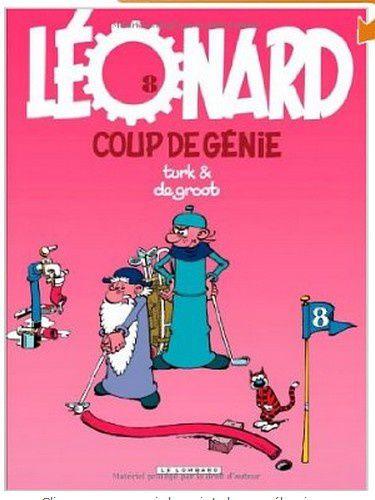 Léonard - 08- coup de génie