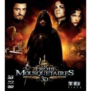 Les Trois Mousquetaires (Blu-ray 3D active + Blu-ray + DVD)
