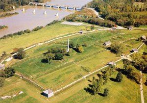 aerial view fort meigs 300