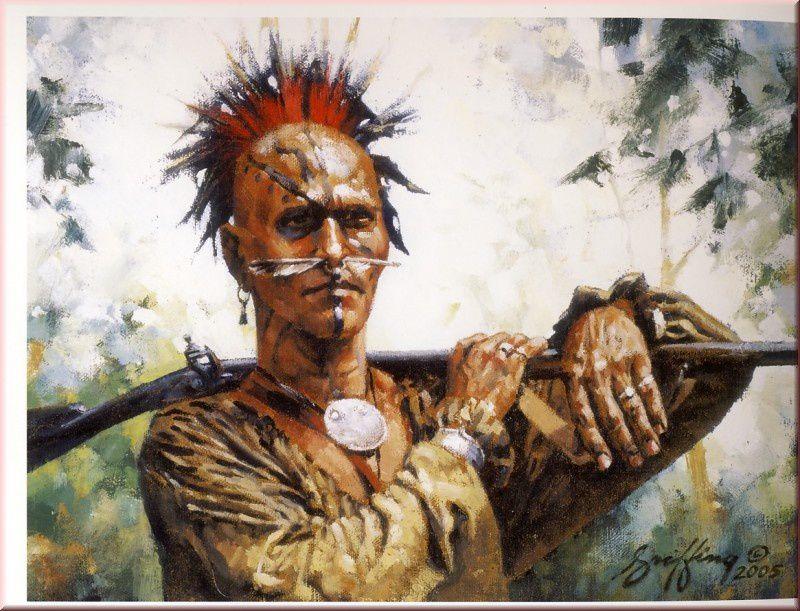 Connu Les Shawnee dans la guerre de 1812 - les uniformes de la guerre de  XG11