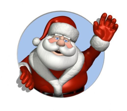 Santa-Claus-waiving-Hi