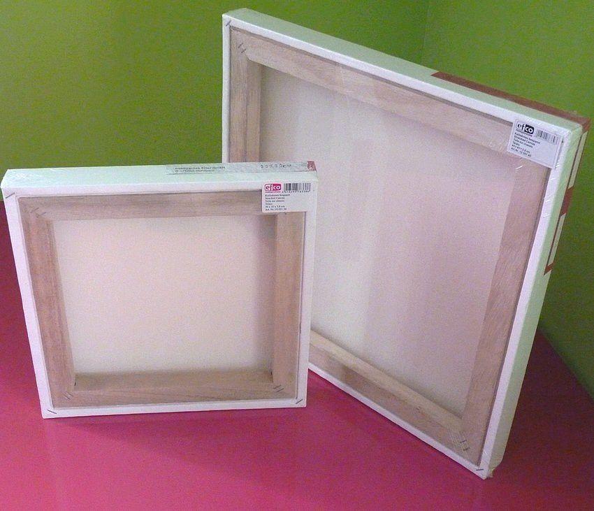la toile sur ch ssis paisseur 3d 100 coton enduit le blog de soleadi. Black Bedroom Furniture Sets. Home Design Ideas
