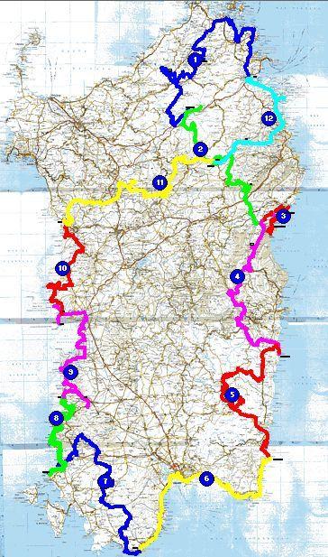 Le tour de Sardaigne en Juin par les pistes ou une petite idée du paradis !