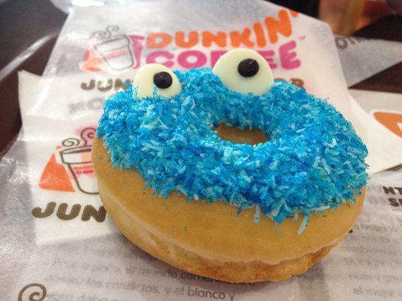 13-donut bonhomme bleu
