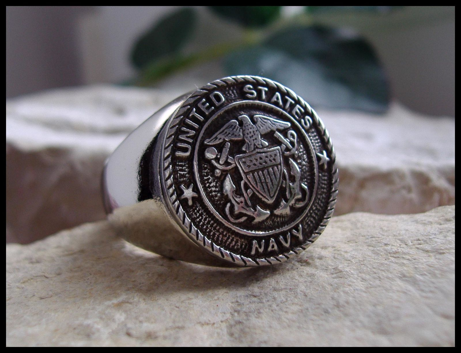 Bague Prestige Us Navy 2 New American Collection