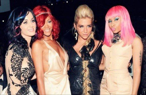 nicki-minaj-katy-perry-rihanna-keha